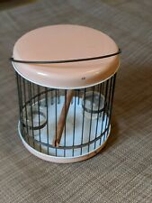 Parakeet Portable Small Bird Cage Fantastic for vet visits!