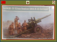 1/35 Trumpeter WWII Russian ML-20 152mm Howitzer with M-46 Gun Carriage