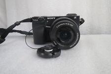 Sony Alpha a6000 24.3MP Digital Camera - Black w/ E PZ OSS 16-50mm Lens