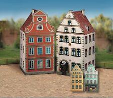 Card Model Kit – Old Town Houses I