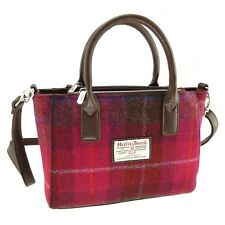 Ladies Authentic Harris Tweed Small Tote Bag With Shoulder Strap LB1228 COL 52
