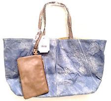 Tote Bag Denim Shopping, Gym Carry-all, Beach, Knitting, School, Reversible