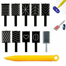 11pcs/set MAGNETIC CAT EYE PLATE PEN STICK for Gel Polish UV 3D Nail Art Magnet