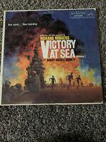 VICTORY AT SEA VOLUME 1 RICHARD RODGERS VINYL LP ALBUM 1959 RCA VICTOR RED SEAL