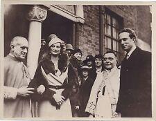 Belgique Famille Royale Duchesse de Brabant Vintage argentique 1933