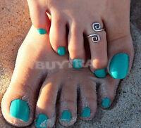 Best-selling  Women Charm Simple Toe Ring Adjustable Foot Beach Jewelry G Tk