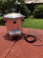 All American Electric Sterilizer Model 50x 120v Plug N Play Pressure Cooker