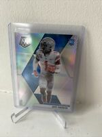 Panini Mosaic 2020 Jeff Okudah Silver Prizm Parallel Rookie Card Lions Rc #243