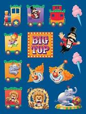 Big Top Party Stickers Value Pack