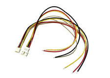5 SET PH 2.0mm Pitch 3-Pin Male Female Connector Housing Adapter lead wire 200mm