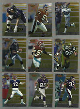1996 BOWMANS BEST FOOTBALL 144 CARDS WITH  ROOKIES-STARS AND HALL OF FAMERS