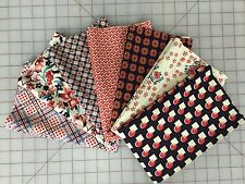 OOP Denyse Schmidt Shelburne Falls Fabric Fat Quarter Bundle- Red/Pink/Coral