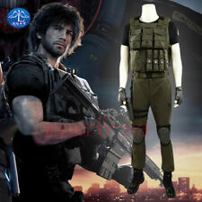 Resident Evil 3 Remake Carlos Oliveira Cosplay Costume Halloween Uniform Outfits