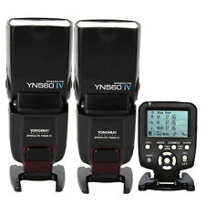 Yongnuo 2 x YN-560IV Wireless Flash Speedlite + YN560-TX Trigger for Nikon D90
