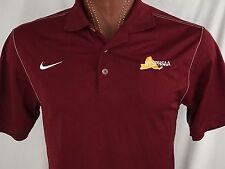 Nike Golf NYSPHSAA Maroon Embroidered Polo Dri-Fit M Medium