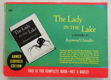 RAYMOND CHANDLER Lady In The Lake Armed Services Ed. Beauty! Philip Marlowe