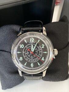 Todd Snyder Men's Beekman Leather Wrist Watch - IOB TW2T19500JR