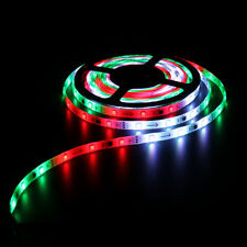 IC 2811 5M 5050 150Leds Dream Color RGB Flash LED Strip Light DC Plug Waterproof