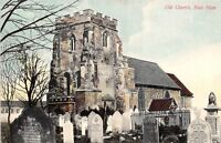 POSTCARD     LONDON  EAST  HAM  Old  Church