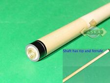 Brand New Billiard Cue Spare Shaft UNI-LOC 13mm Silver Ring