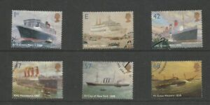 GB 2004 Ocean Liners SG 2448/53 Fine Used Set
