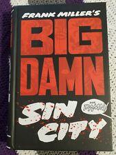 Big Damn Sin City Frank Miller Omnibus Hc Hardcover Oop Dark Horse