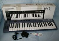 BadAax MP49 USB Port & MIDI Out Jack 49 Semi-Weighted Keys Keyboard Controller