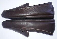 Florsheim Men's Dark Brown Pebble Leather House Slipper Size 9 M