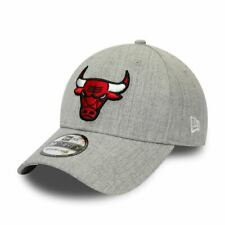 New Era Heather 39Thirty Cap ~ Chicago Bulls