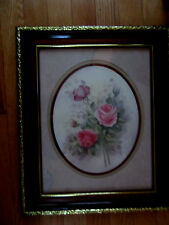 Home Interior by Wyona Newton 3 Pink roses w buds/