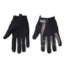 Klein Tools 40229 Journeyman High Dexterity Touchscreen Gloves, Size Medium