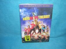 The Big Bang Theory: The Complete Fifth Season (DVD, 2012, 3-Disc Set) Sealed