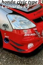 Honda civic ep3 type r track day Canards/is civic type r canards/ep3 Canards