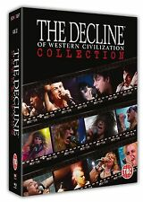 THE DECLINE OF WESTERN CIVILIZATION Box 4 BLURAY in Inglese NEW PRENOTAZ.
