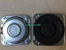 "2pcs 3""inch 3ohm 20W Neodymium full-range speaker Loudspeaker Ultra-thin Audio"