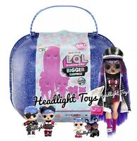 LOL Surprise Winter Disco 2019 BIGGER SURPRISE 1 OMG Fashion Doll 2 Tots Lil Pet