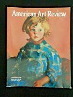 American Art Review Magazine 2011 Cleveland Rockwell Charles Demuth Robert Henri