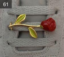 ❤️ Neue Nike Air Force 1 Schnallen Buckles Lace Locks Flower Rose 1 Stück ✅