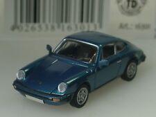 Brekina Porsche 911 Coupe, G-Modell 1976, petrolblau metallic - 16301 - 1:87