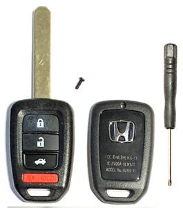 Honda Accord Civic CRV 2013-2019 4Btn Remote Head Key SHELL USA Seller A+++
