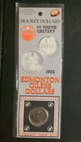 New, Wayne Gretzky 1983 Edmonton Oilers Hockey Dollars Collectable Coin Sealed