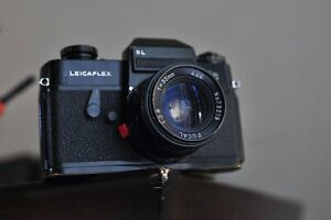 Leicaflex SL Camera body with a 35mm 2.8 lens