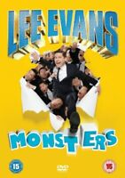 Lee Evans: Monsters [DVD] Live SHOW DVD Comedy Gift Idea NEW
