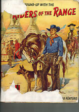 SECOND ROUND UP WITH RIDERS OF THE RANGE 1950s in dustwrapper