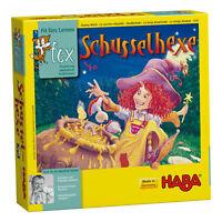 HABA Schusselhexe Lernspiel Reaktionsspiel Kinderspiele Spiele Spielzeug 4280