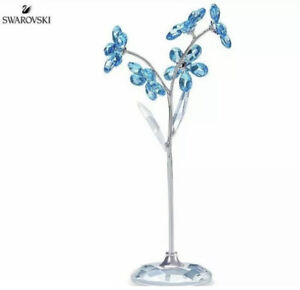 New In Box Swarovski Flower Dreams Forget-Me-Not Crystal Figurine #5490754