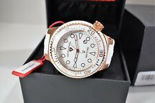 Swiss Legend Men's Neptune White Silicone Rose Gold Watch 21818D-RG-02-WHT