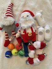 lot dog toys loofa toys Taco Sloth small/medium dog (everything In Photo Ships!)