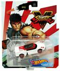 Hot Wheels Street Fighter V Diecast Cars - Choose Character