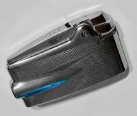 Ronson Varaflame PREMIER butane gas cigarette lighter 1957 silver tone chrome